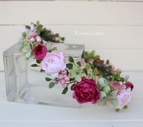 花かんむり +ピンク+ #15#