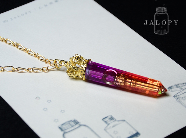 ★NEWYEAR★鍵結晶のネックレス