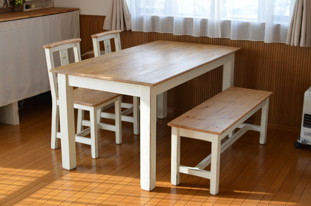 【 Dining table set 】 〜受注製作品〜