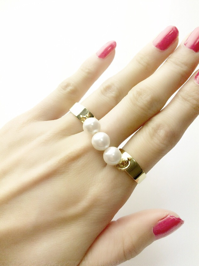 3pearl connection ring