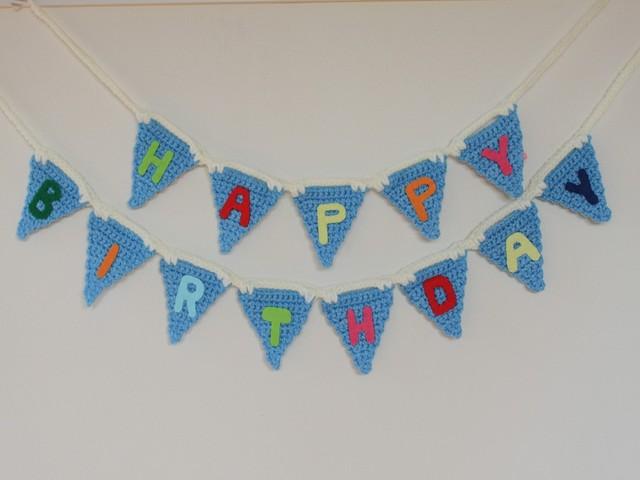 HAPPY BIRTHDAY ガーランド 2本組み