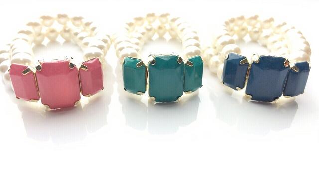 ☆sale☆acryl stone bracelet?全3色?