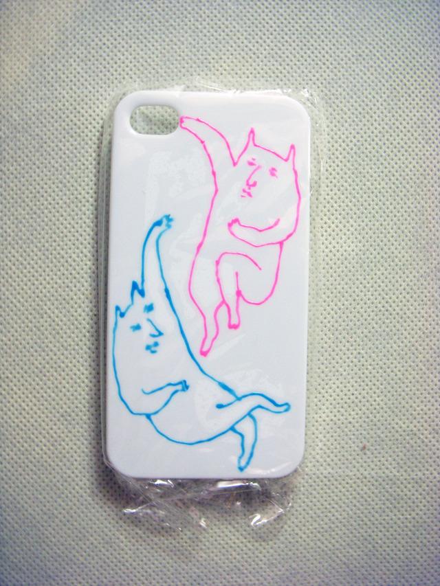 やさぐれねこ iPhoneケース(カラー)