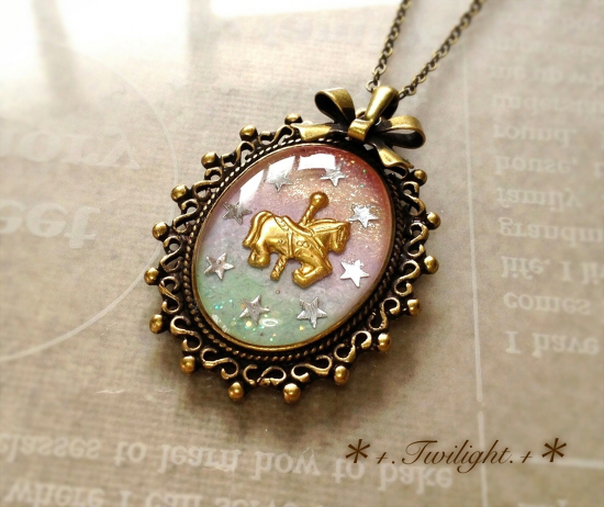 【sold out】「*+.Merry-go-round.+*」ネックレス