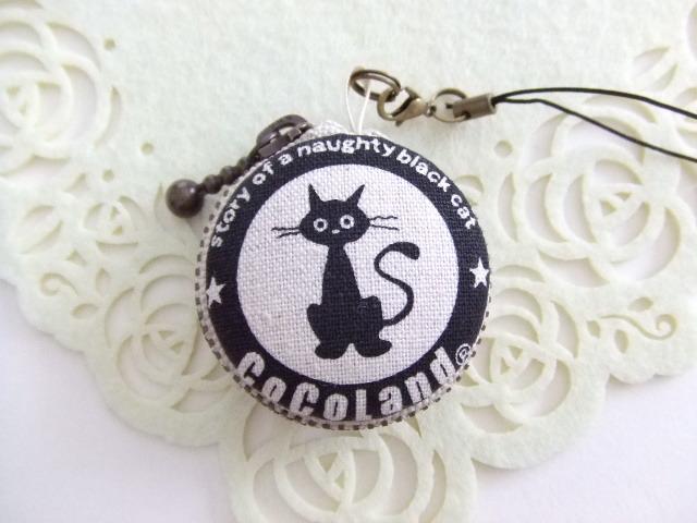 黒猫♪2/マカロンコインケース(マカロン...