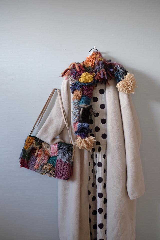 Knit -bag ニットポシェット