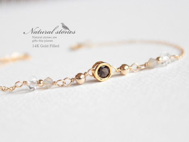 Candy charm Bracelet 14KGF sol