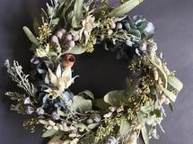 driedflower wreathe B