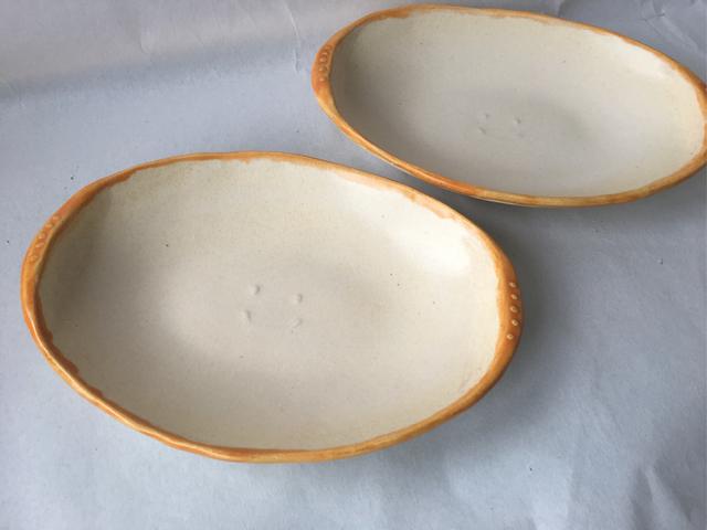 にっこりカレー皿  (オーブン料理対...