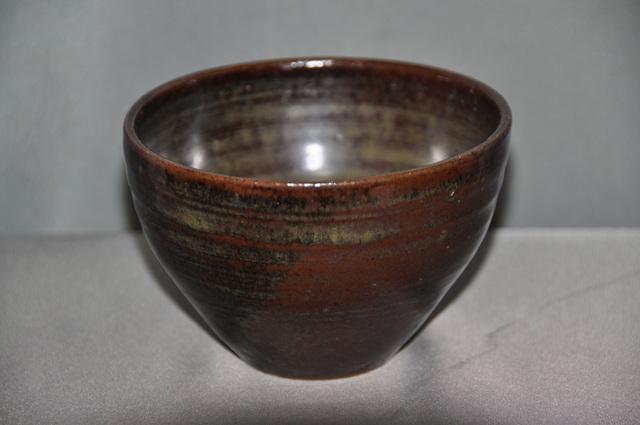 飴釉窯変茶碗