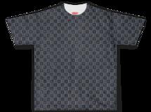 チェック Tシャツ【ネイビーブルー】
