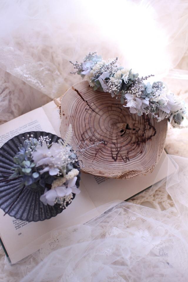 Flower bonne #111 [髪飾り×ブライダ...