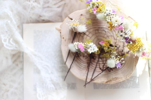 Flower bonne #113 [髪飾り×ブライダ...