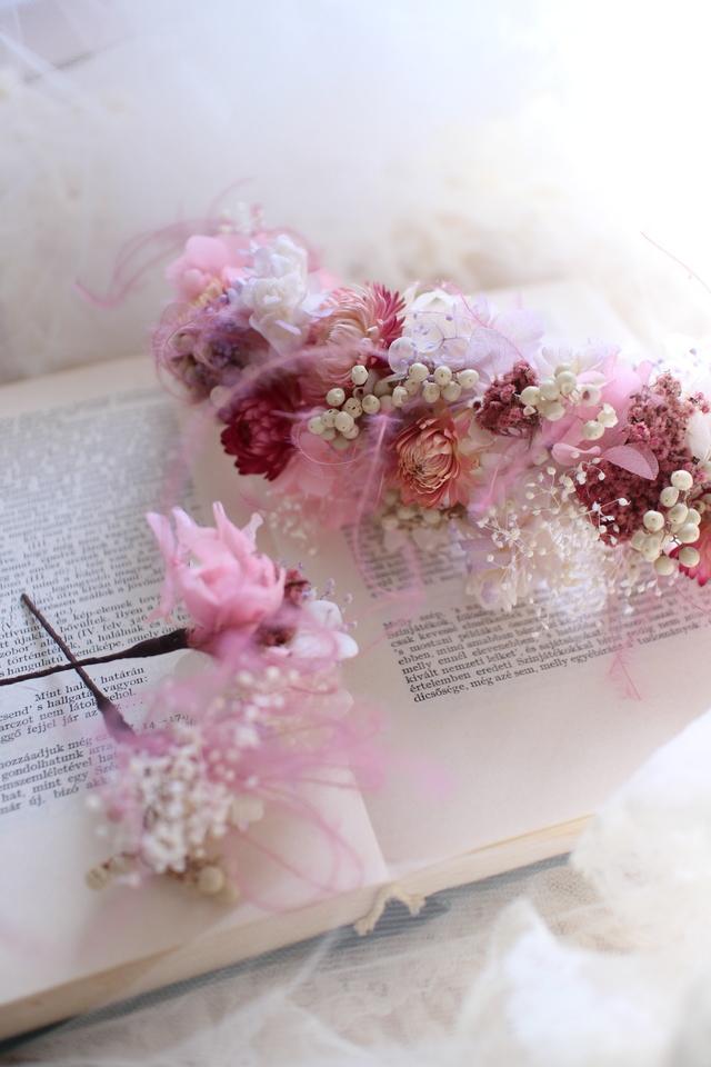Flower bonne #114 [髪飾り×ブライダ...