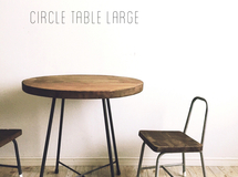 circle table large