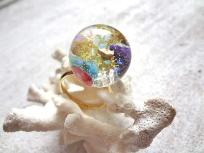 <SOLD> Seascape Ring b