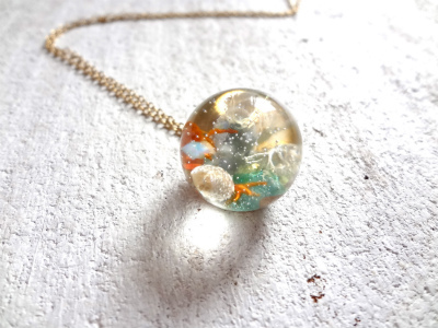 <SOLD> Seascape Necklace U