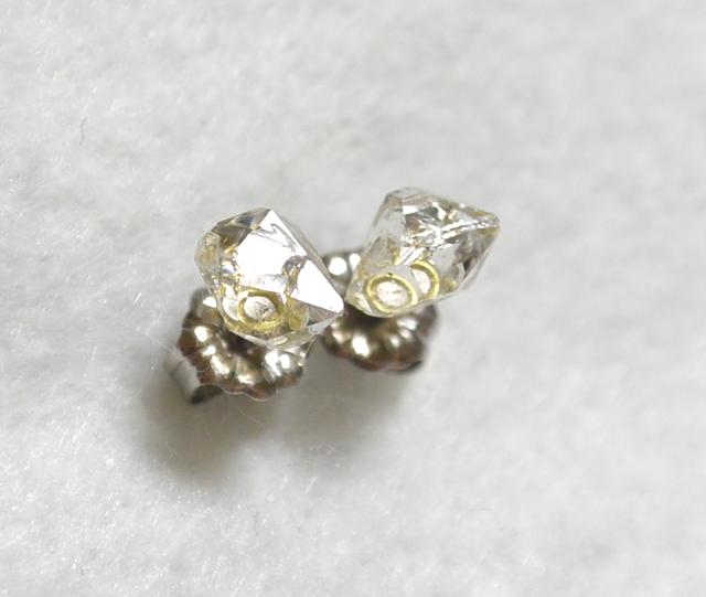 (1点もの)ハーキマーダイヤモンドのス...