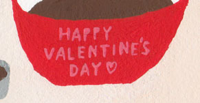 原画 HAPPY VALENTINE'S DAY