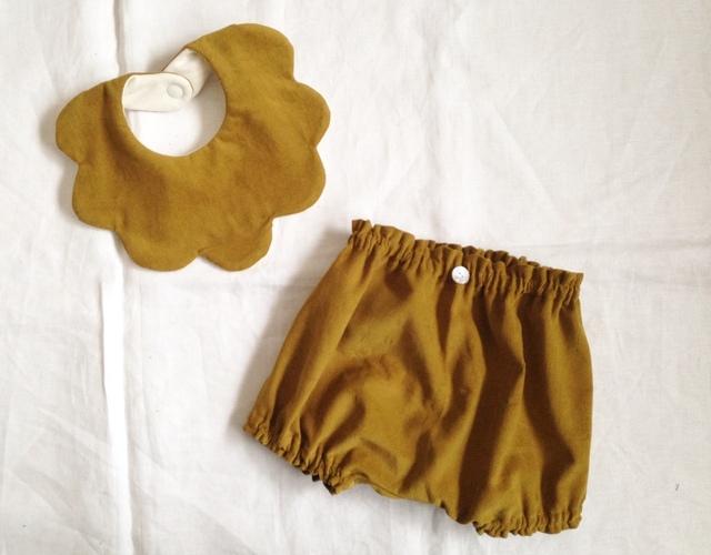 スタイとかぼちゃパンツのセット コー...
