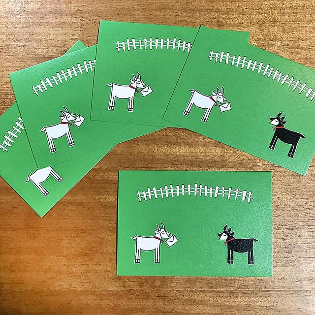 ヤギさん郵便 ポストカード(5枚セット)