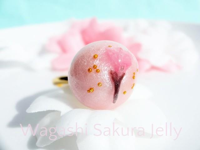?桜餅の和菓子リング