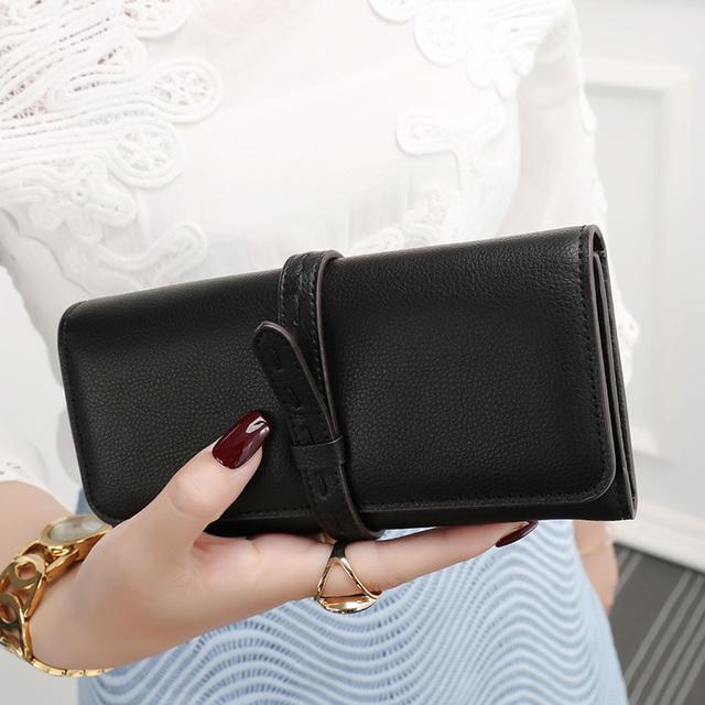 61b82b17e5ba 財布 レディース 長財布 大容量 かぶせ サイフ さいふ シンプル 小銭入れ140202