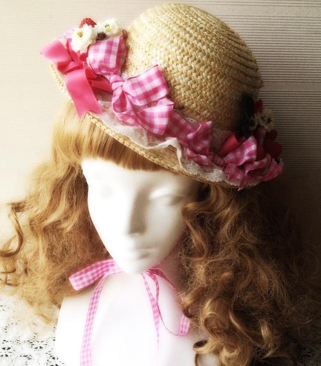 sweet strawberry Hat@shinamo