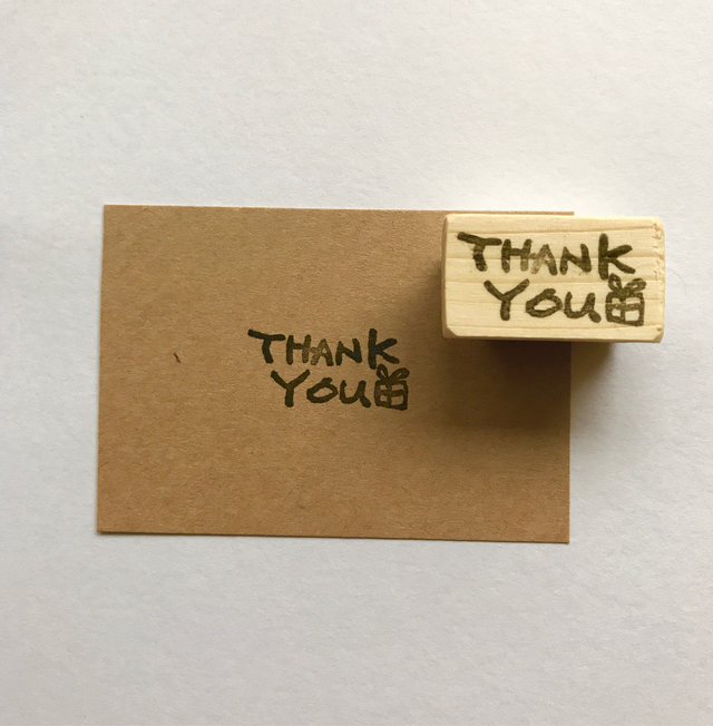 THANKY YOUのはんこ。