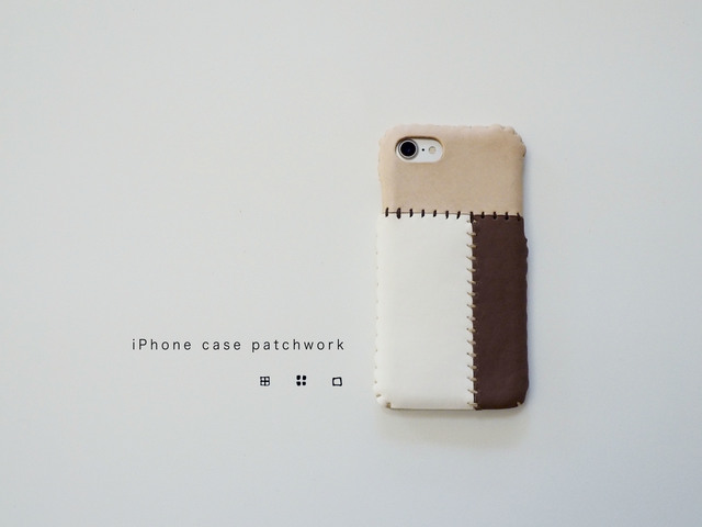 iPhone8 iPhone7ケース(パッチワーク)