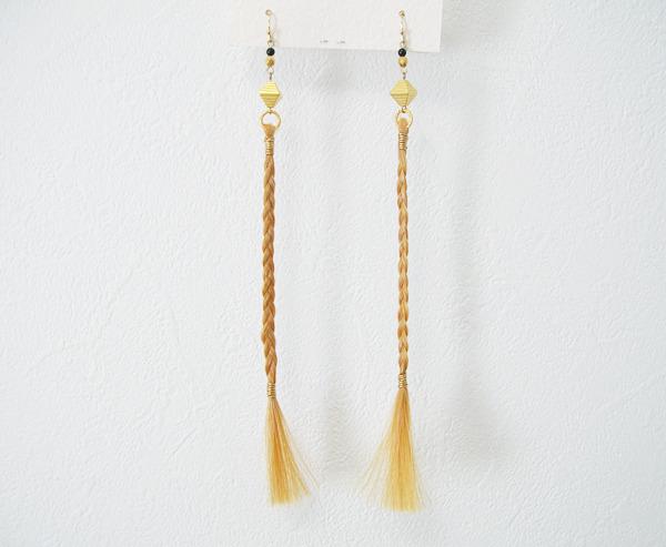 【9様オーダー】三つ編みピアス