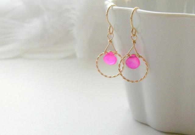 *14kgf candy pink in circle