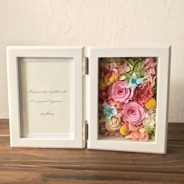 結婚式贈呈品・お祝いにも♪フルオーダー フォトフレーム ウェディング 両親へのプレゼント 花束 贈呈花 記念品 新築祝い