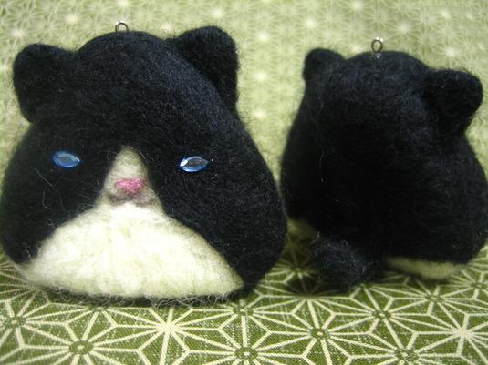 おにぎり猫 白黒