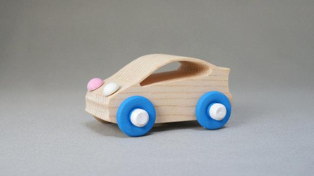 木の車(プリウス)手作りキット