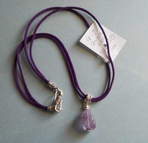 和の伝統*正絹組紐の2本組みのネック...