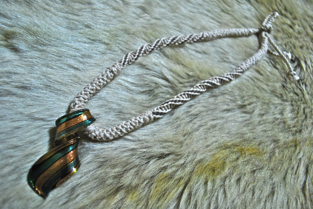 《PriceDown》ガラスパーツのネックレス