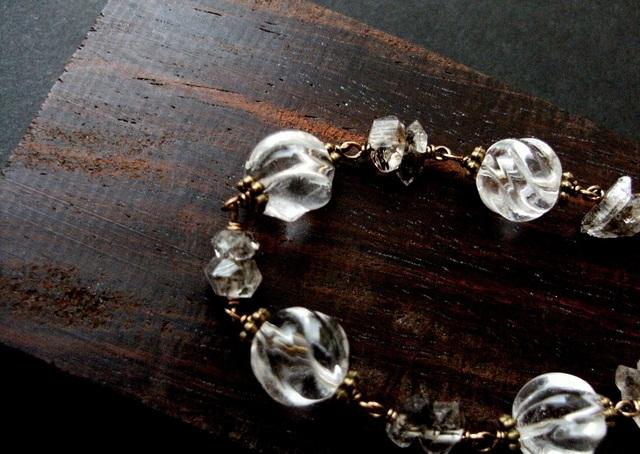 *clear-waterflow bracelet