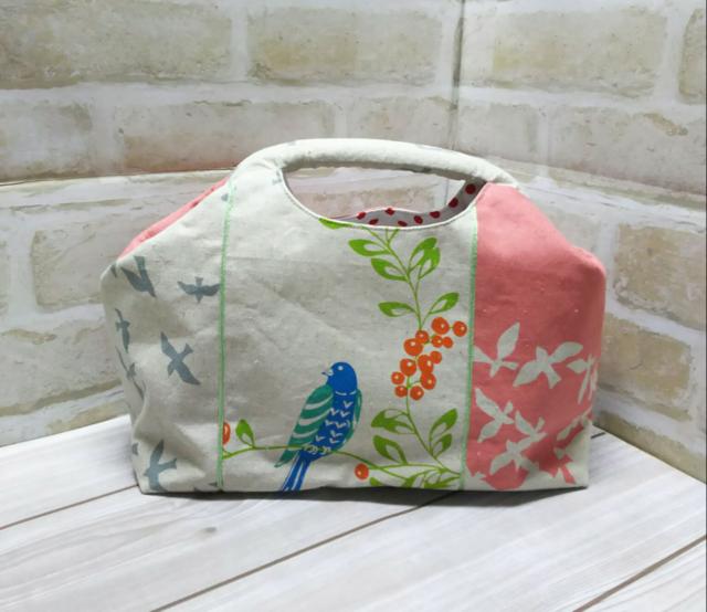 小鳥のハンドバッグ/ニュームバッグ