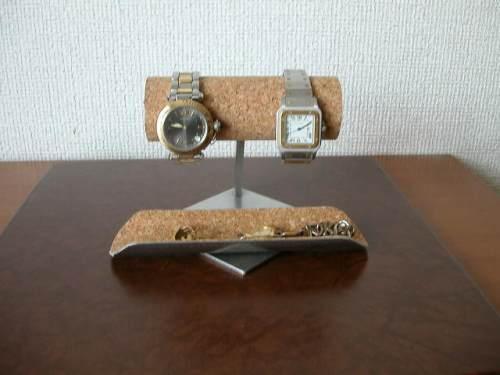2本掛け菱台座ロングトレイバージョンAK83 腕時計ボックス