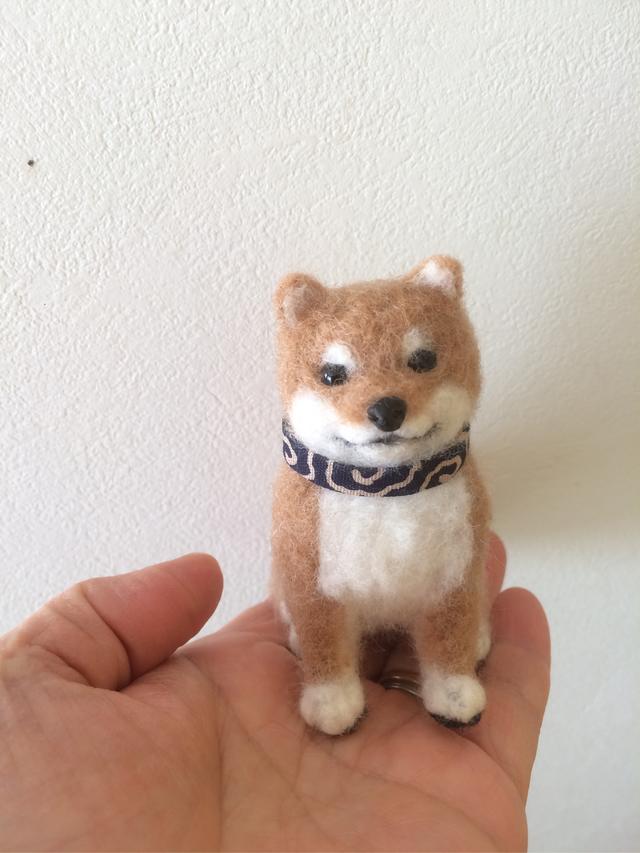 オーダー作品  柴犬子犬さん