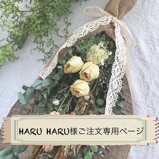 HARU HARU様ご注文専用ページ