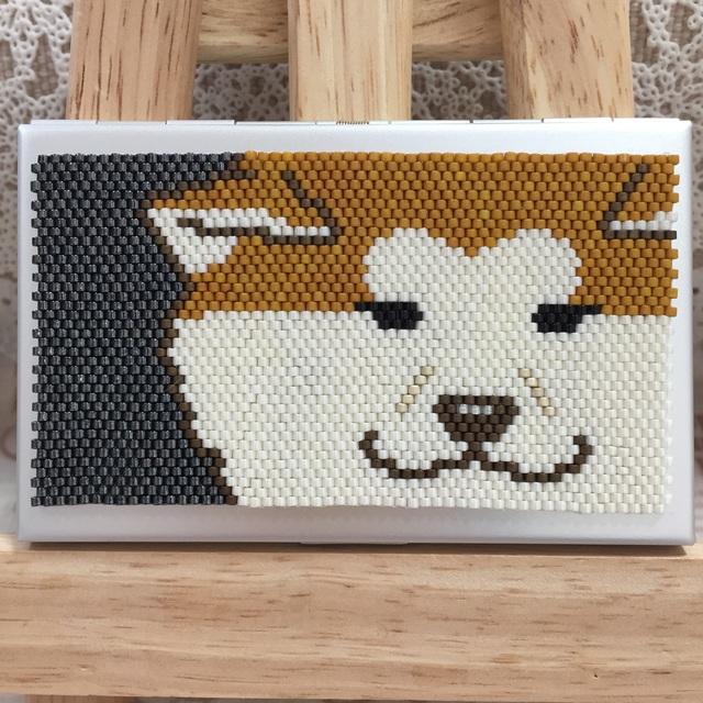 カードケース(秋田犬10)