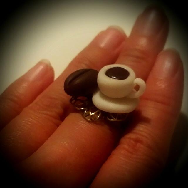 珈琲(コーヒー)の指輪