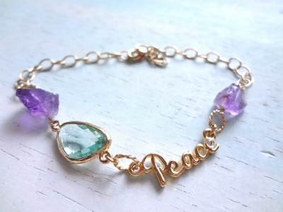 ☆再販☆ Peace of mind bracelet