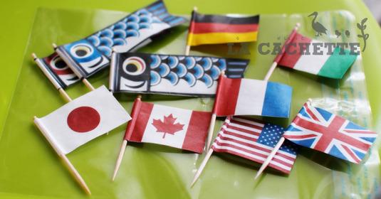 #006-お子様ランチ用の旗