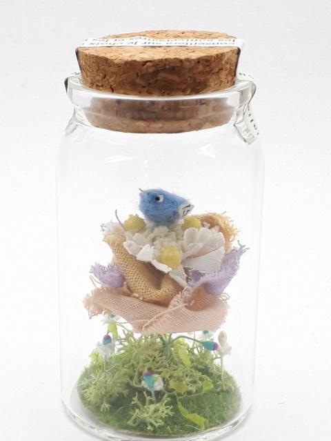 しあわせの青い鳥ボトル-M スリール♪