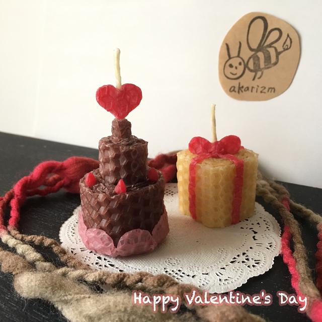 バレンタインギフトキャンドル