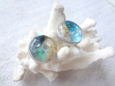 <SOLD> 耳朶にビーチ beach in your earlobe(L)