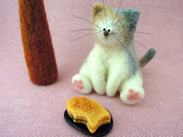 猫と鯛焼き1